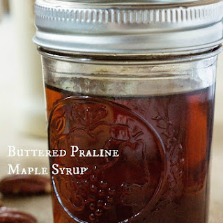Buttered Praline Maple Syrup.