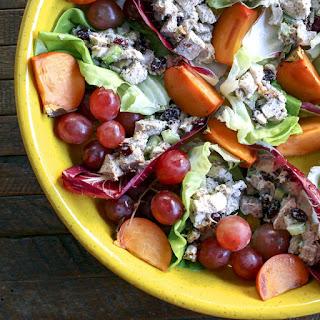 Turkey, Cranberry & Walnut Lettuce Wraps.