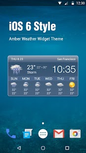 iWeather-The Weather Today HD for PC-Windows 7,8,10 and Mac apk screenshot 1