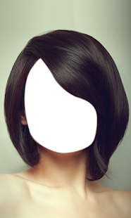 Woman Short Hair Photo Montage - náhled