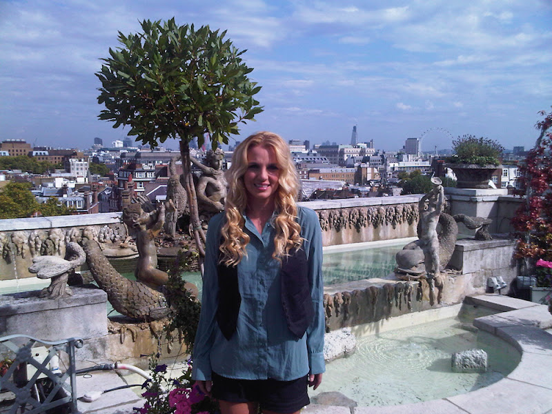 Photo: Look at this view of London... so beautiful! Love it here. -Britney