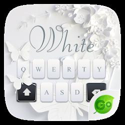 White GO Keyboard Theme