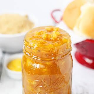 Warm Pineapple Sauce.