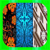 Batik Pattern Wallpaper