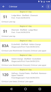 GoTimetable Sheffield- screenshot thumbnail