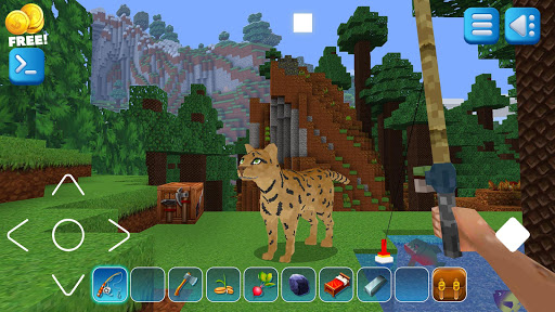 EarthCraft 3D: Block Craft & World Exploration apktreat screenshots 1