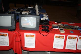 Photo: Expositor especial dedicado al juego Tetris