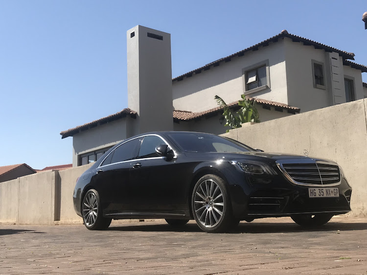 The Mercedes S-class has been a firm favourite of business executives, presidents (elected or despots), and VIPs. Picture: THEMBEKILE VOKWANA