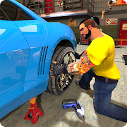 Game Flat Tire Car Mechanic Simulator APK for Kindle