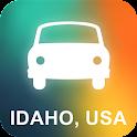 Idaho, USA GPS Navigation icon
