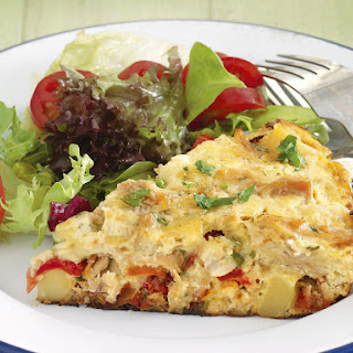 Tuna and Tomato Frittata