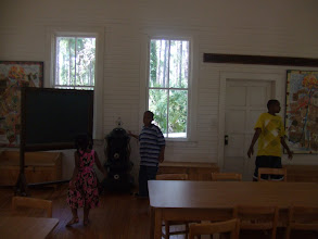 Photo: kids inside Harris School