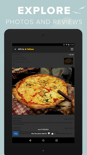 White & Yellow Pages screenshot 18