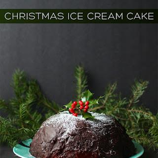 Christmas Ice Cream Cake