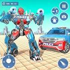 US Police Robot Transform:Robot shooting Game 2021