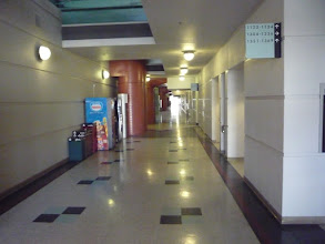 Photo: Academic Surge lower hallway.