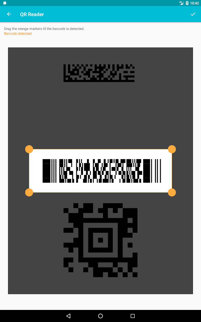 QR & Barcode Scanner (Pro) Screenshot 12