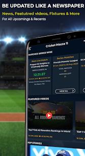 Cricket Mazza 11 Live Line & Fastest Score v2.04 [Unlocked] 2