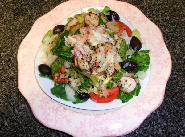Crab Ala-cathy Salad Recipe