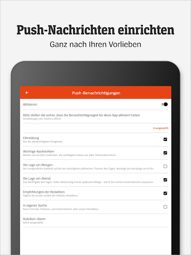 DER SPIEGEL - Nachrichten 4.1.2 screenshots 14