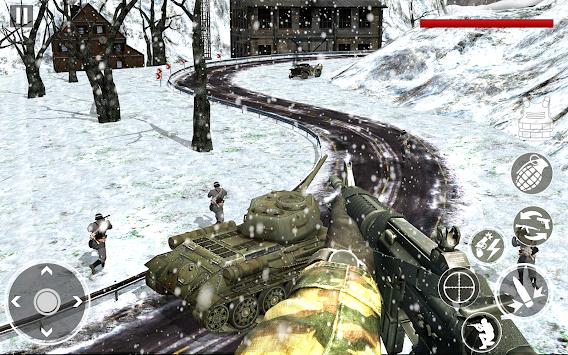 American vs German War Shooter: World War FPS apk screenshot