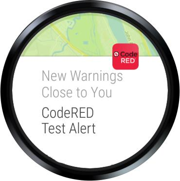 CodeRED Mobile Alert- screenshot