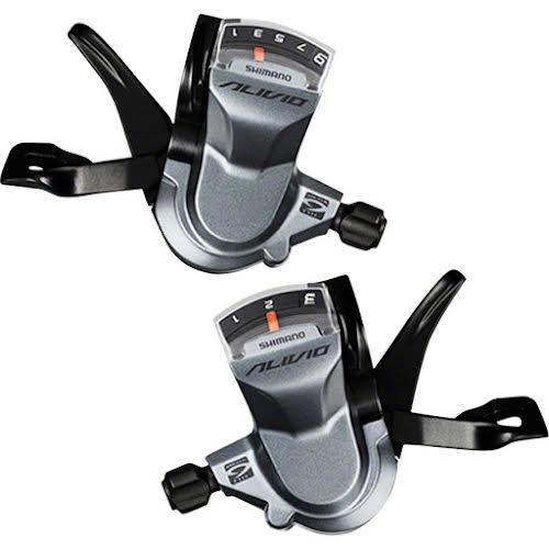 Shimano Alivio M4000 3x9-Speed Shifter Set