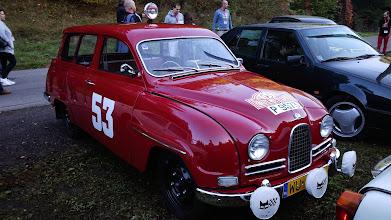 Photo: Víťaz ceny o najkrašie auto SSS'14. SAAB 95 Monte Carlo (replika). Jedinečné kombi, ktorého reštaurovanie presiahlo cenu 4000€