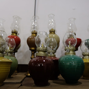 Oil Lamp by Beh Heng Long - Artistic Objects Other Objects ( lamp )