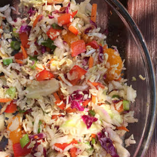 Crunchy Asian Ramen Noodle Salad.