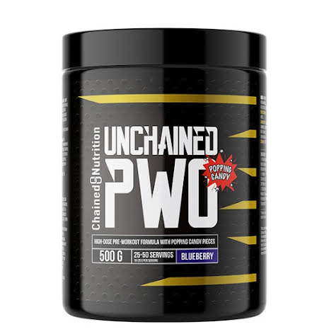 Unchained PWO 500g - Blueberry