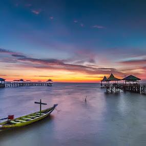 perahu by RIO DJOENED - Landscapes Sunsets & Sunrises