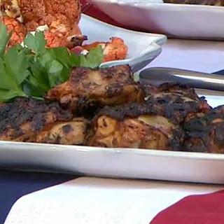 Grilled Summer Chicken Thighs