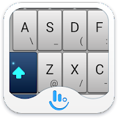 TouchPal Blue Keyboard Theme