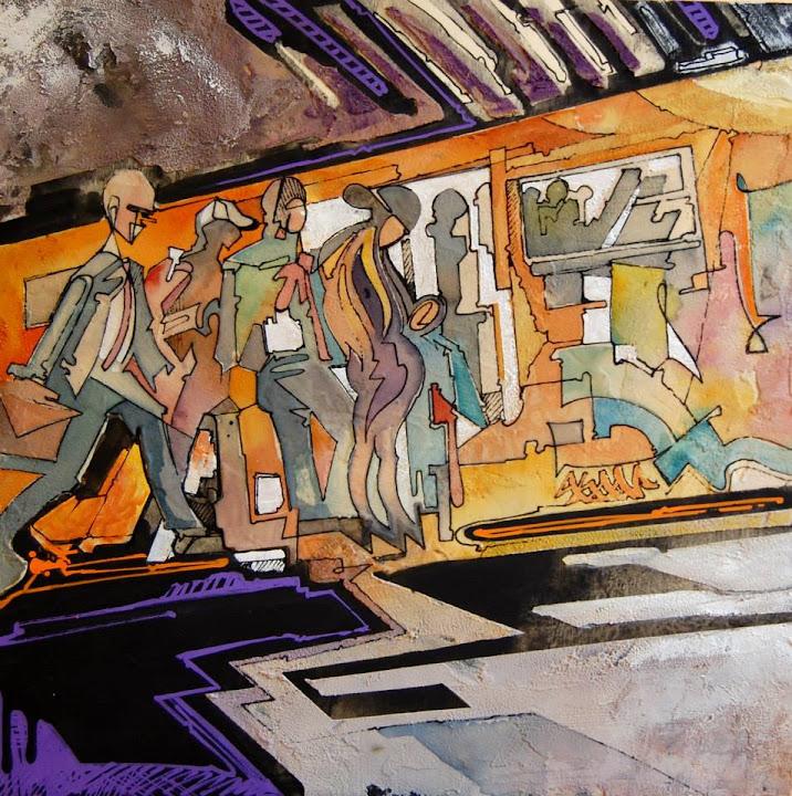 Acronimo Roma | metro a + folla stuido 2