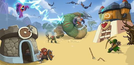 King Of Defense: Battle Frontier Mega Mod APK Archer Strength Super High