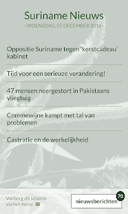Suriname Nieuws- screenshot thumbnail