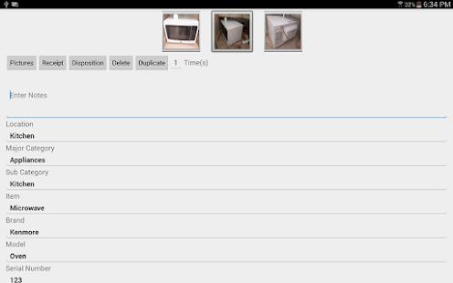 NM Home Inventory Software- screenshot thumbnail
