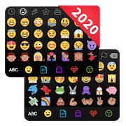\u2764\ufe0fEmoji keyboard - Cute Emoticons, GIF, Stickers