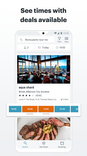 Bookatable by TheFork - screenshot