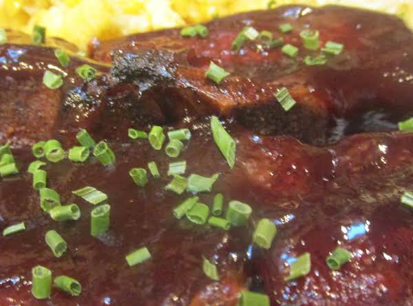 Easy Barbequed Country Style Ribs Recipe