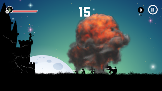 Bomb Strike - Non Stop Action Game Screenshot