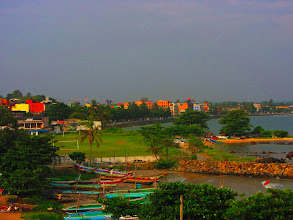 Photo: Fishing boats in Galle.