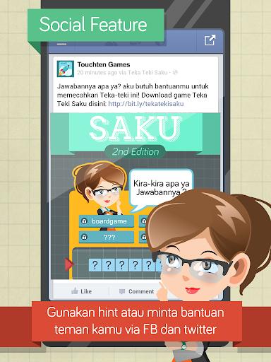 Teka Teki Saku 2.3.2 screenshots 5
