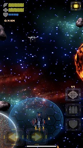 Spaceship Defender - space invaders spaceship game screenshot 1