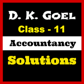 Account Class-11 Solutions (D K Goel)