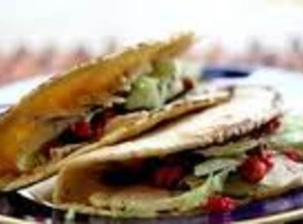 Cranberry Turkey Tacos
