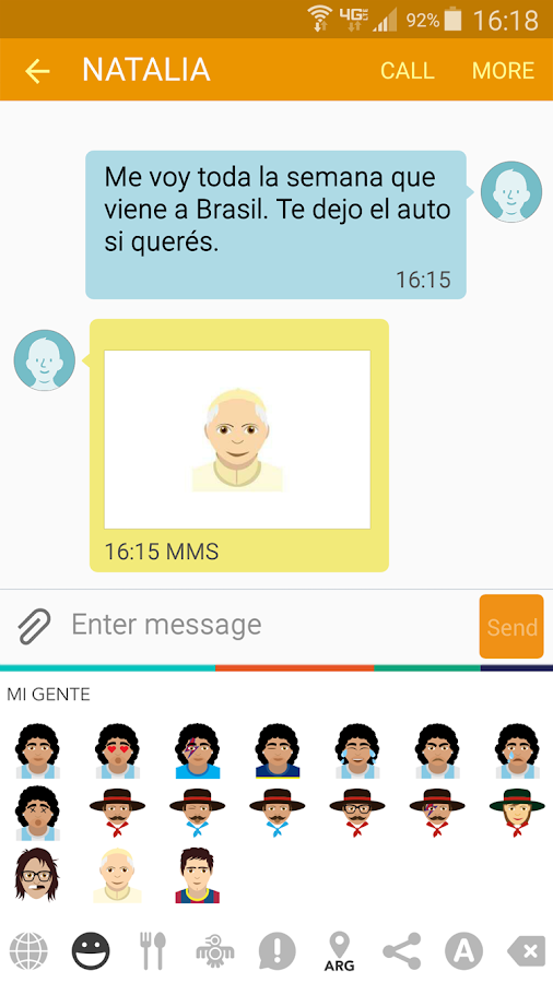 Latino Emoji- screenshot