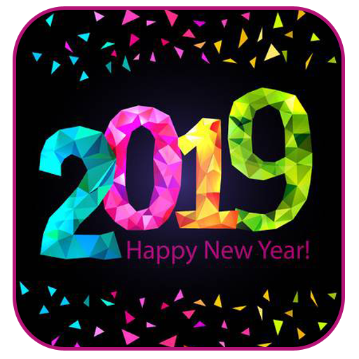New Year 2019 HD Images Wishesh Messages GIF Android APK Download Free By Bhavsar InfoTech