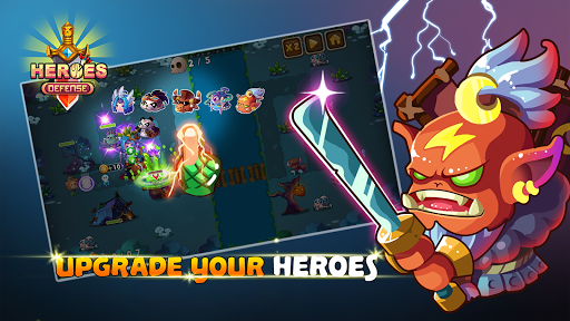 Heroes Defender Fantasy - Epic Tower Defense Game - screenshot